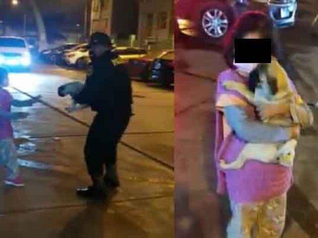 """Chorrillos: recuperan a """"Tita"""", perrita fue robada de las manos de una niña de 7 años"""