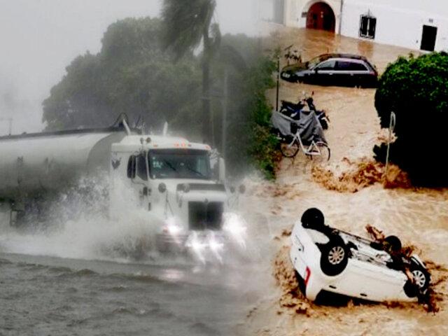Inundaciones y fuerte granizo azotan varias ciudades en Austria