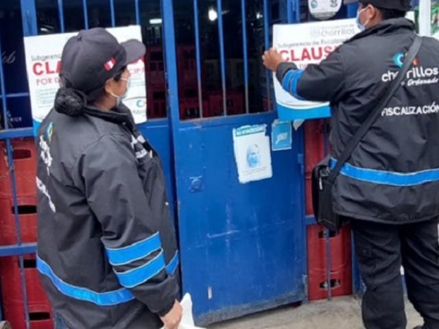 Chorrillos: realizan operativo preventivo en bares contra delitos de salud pública