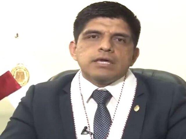 Exviceministro del Interior considera tardía reacción del Congreso por caso Juan Carrasco