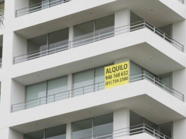 Precio de los alquileres subió en 13 distritos de Lima Metropolitana
