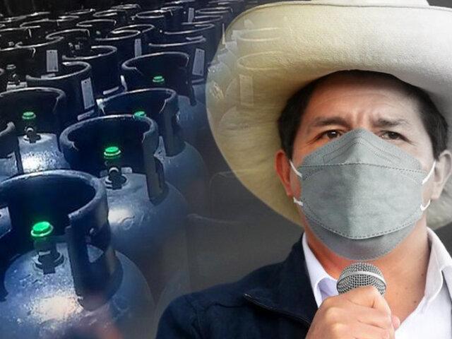 """Presidente Castillo: """"habrá sorpresas con el gas y los alimentos la próxima semana"""""""