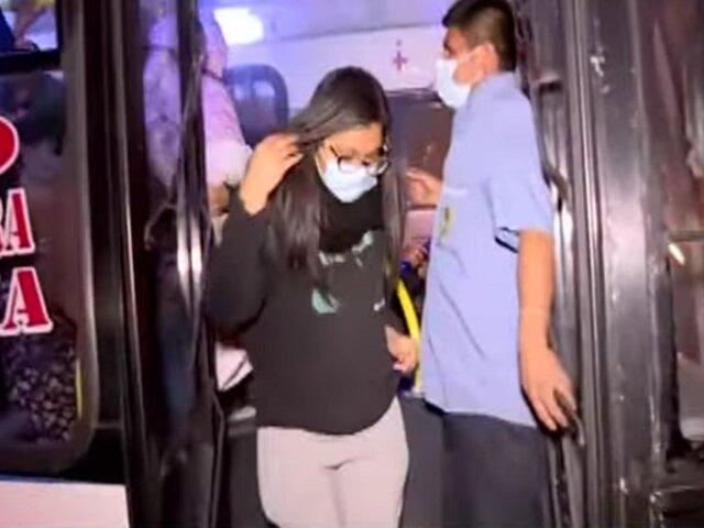 Transporte público: usuarios no usan protector facial pese a inminente tercera ola