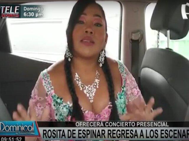 Rosita de Espinar regresa a los escenarios para celebrar su 25 aniversario