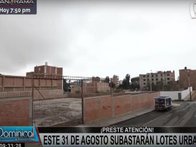 SERPAR subastará lotes urbanos en Miraflores, Magdalena, Surco y Puente Piedra