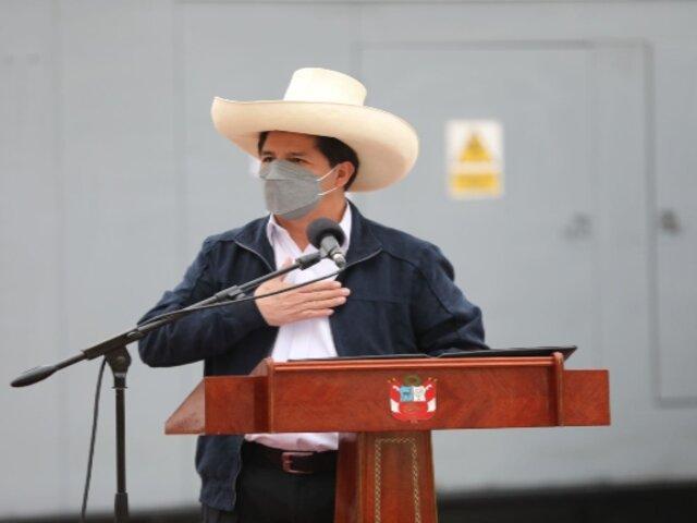 Pedro Castillo participará en la presentación del Perú en Expo 2020 Dubái esta tarde