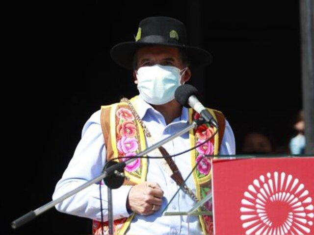 """Ciro Gálvez: """"Pedro Castillo siempre participa en las reuniones del Consejo"""""""