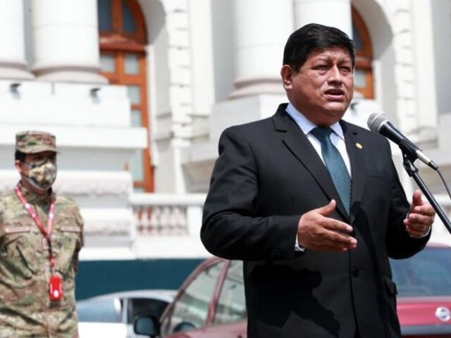 Ministro de Defensa desmintió que se vaya a desmilitarizar el Vraem