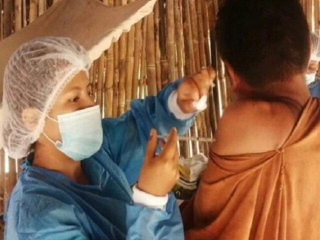 Covid-19: personal sanitario inmuniza casa por casa en comunidades indígenas de Junín