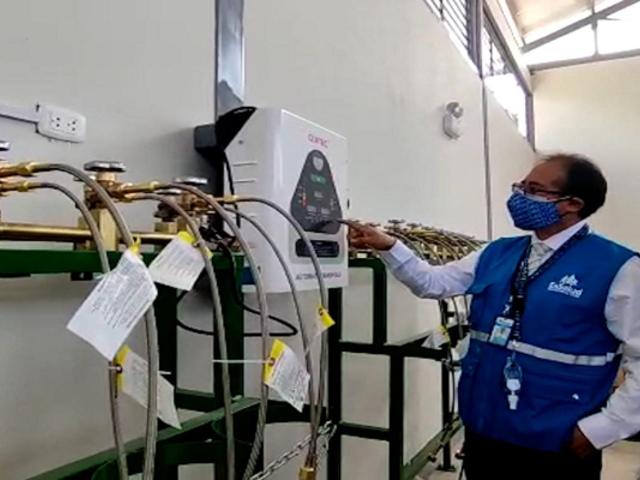 Tacna ya cuenta con con la planta de oxígeno más grande de la región para pacientes Covid-19