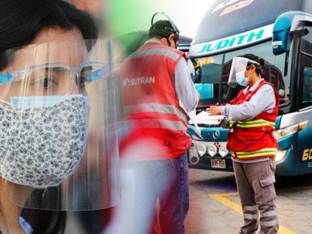 Conozca las nuevas restricciones del transporte interprovincial vigentes a partir del 1 de septiembre