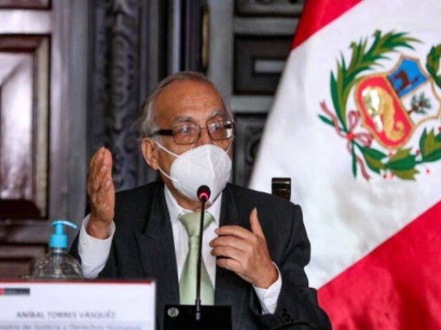 """""""Limitar la cuestión de confianza es limpiar el camino para la vacancia presidencial"""", señala Aníbal Torres"""