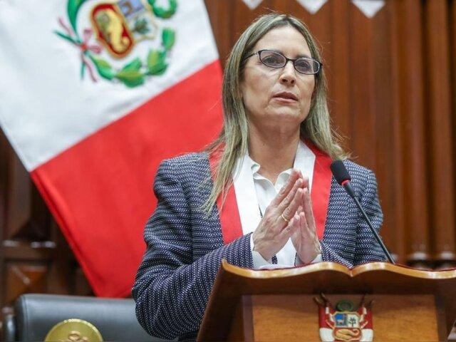 Empresario investigado junto con Cerrón habría financiado candidatura de presidenta del Congreso