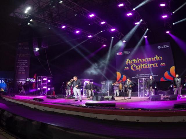 ¡Ingreso gratuito! Regresan los conciertos presenciales en el Parque de la Exposición