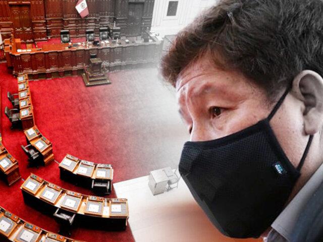 Congreso de la República presenta tres mociones para invitar a Bellido