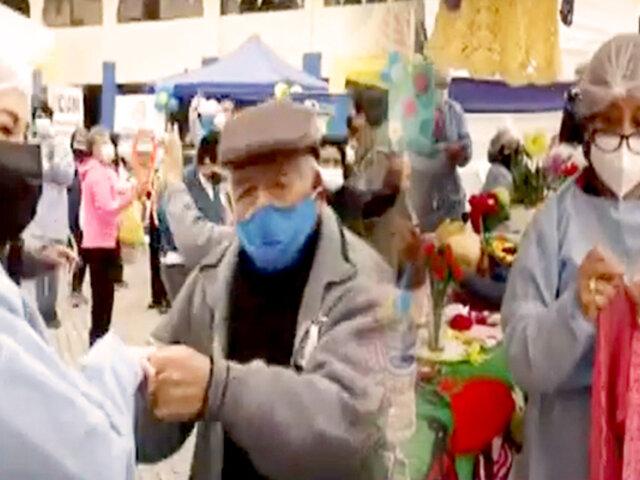 Día del Adulto Mayor: Municipalidad de VES celebra con campaña de salud, música y talleres