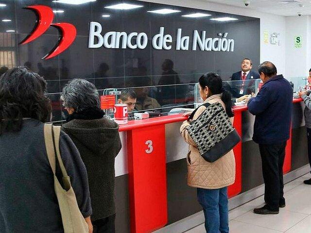 Gobierno plantea que Banco de la Nación otorgue créditos y servicios similares a bancos privados