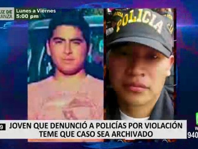 Joven es víctima de amedrentamiento tras denunciar violación por parte de dos policías