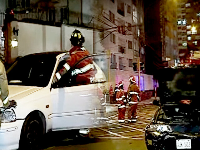 Jesús María: violento choque entre dos autos se registró en la avenida San Felipe
