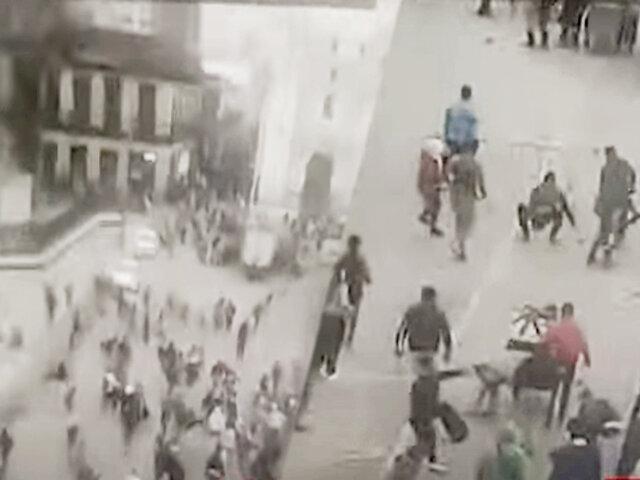 Jorge Muñoz pide al gobierno expulsar a extranjeros que delinquen en Mesa Redonda