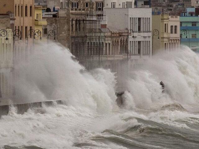 Torrenciales lluvias y daños materiales de consideración provoca huracán Ida en Cuba