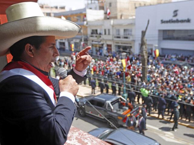 Presidente Pedro Castillo: Cuando termine vacunación contra la Covid-19 abriremos las fronteras