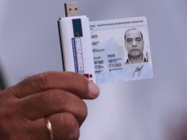Reniec aplaza hasta 31 de diciembre vigencia de DNI vencidos