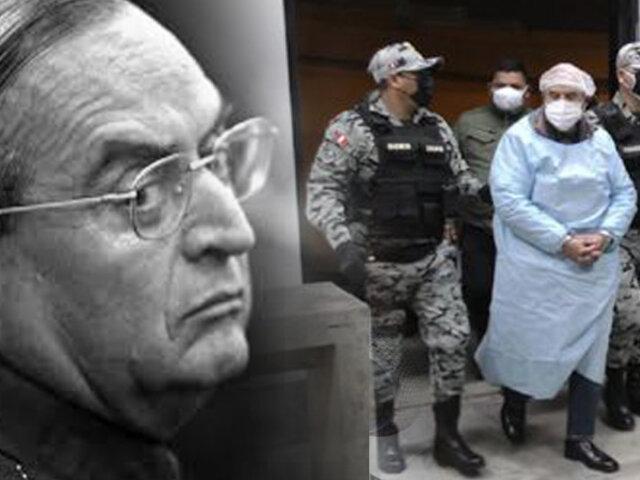 Vladimiro Montesinos y su traslado al penal Ancón II