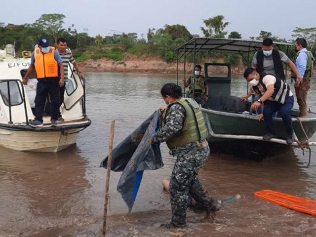 Loreto: continúa búsqueda de desaparecidos tras choque de embarcaciones en río Huallaga