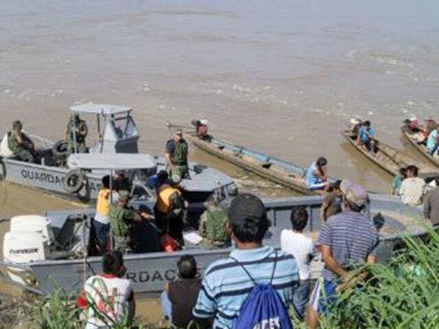 Loreto: hasta el momento hay  tres detenidos por choque de embarcaciones en río Huallaga