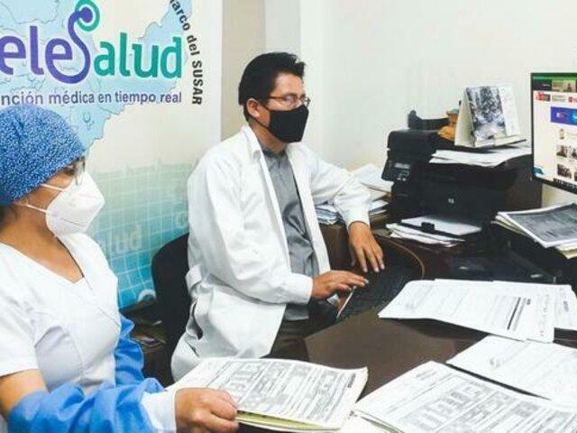 Minsa: Más de 9,8 millones de consultas fueron atendidas por telemedicina a nivel nacional entre enero y julio