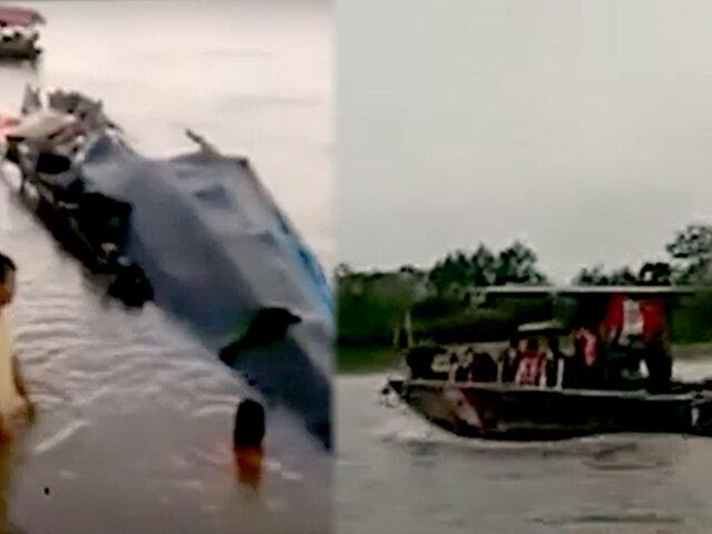 Tragedia en río Huallaga: sobreviviente perdió a siete familiares en naufragio