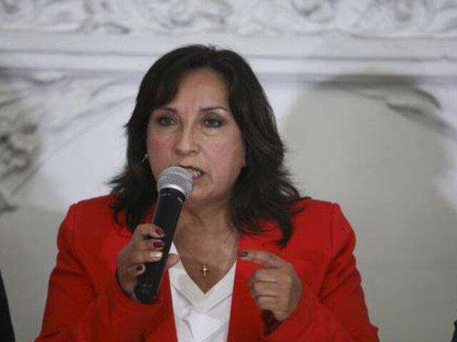 Dina Boluarte aseguró que Consejo de Ministro trató situación del cadáver e Abimael Guzmán, pero no se llegó a conclusión