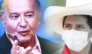 """Hernando de Soto sobre declaraciones de Pedro Castillo: """"Yo acepto su debate"""""""