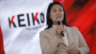 Caso Keiko Fujimori: Juez Zúñiga aplaza inicio del control de acusación por lavado de activos