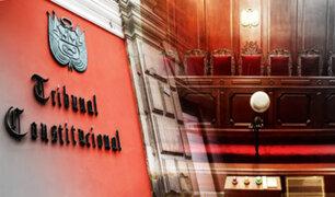 Congreso: sugieren que selección de magistrados TC siga siendo por concurso