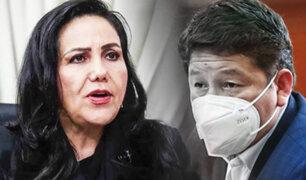 Montenegro: Ética debe dar prioridad a denuncia de Chirinos contra premier Bellido
