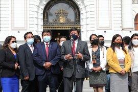 Perú Libre se someterá a investigación del Ministerio Público