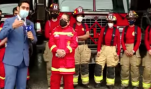 """Primera mujer comandante de los bomberos: """"Me demoré siete años para ser bombera"""""""