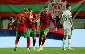 Cristiano Ronaldo anotó doblete en la última jugada y es el máximo goleador de selecciones de la historia [VÍDEO]