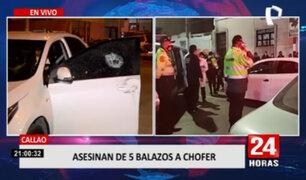 Callao: dos hombres son asesinados en menos de una hora en diferentes puntos