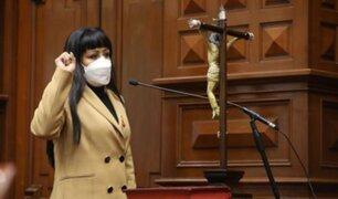 Titular de Comisión de Mujer pone en duda denuncia de Chirinos a Bellido por agresión verbal