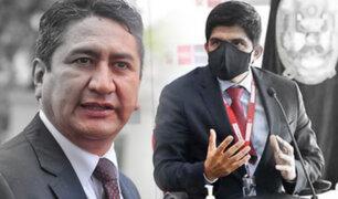Fiscalización citará al ministro del Interior por irregular resguardo policial a Vladimir Cerrón