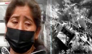 Tragedia en Matucana: Familiares llegan a Morgue para reconocer los cuerpos