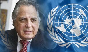 Manuel Rodríguez Cuadros será representante permanente del Perú ante la ONU