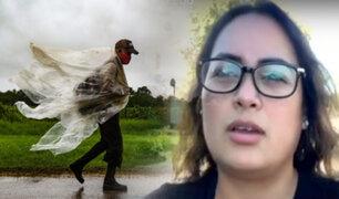 """Este es el testimonio de peruana afectada por huracán """"Ida"""" en EEUU"""