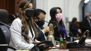 """Lady Camones a Pedro Castillo: """"¿Cuándo aceptará la renuncia del ministro Maraví?"""""""
