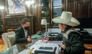 """Presidente Castillo respalda a Bellido: """"Solo en unidad y constante diálogo avanzaremos hacia la prosperidad"""""""