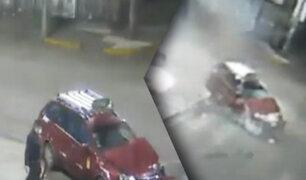 Tacna: Autos chocan aparatosamente por exceso de velocidad