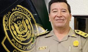 Javier Gallardo fue designado nuevo comandante general de la PNP